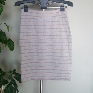 💝2 for $20💝 Pencil skirt grey and pink